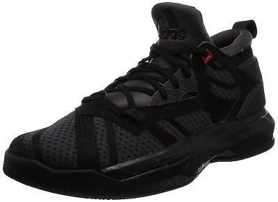 New Adidas D Lillard 2 Bounce Mens Basketball Black Trainer Shoes RRP £95 Sale