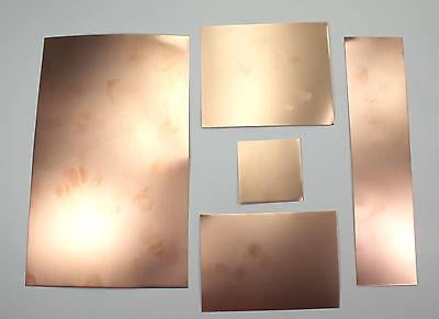 Scissor Cut Flexible Printed Circuit Board Material Copper Clad 5pcs-assortment