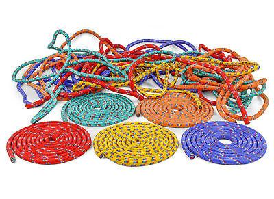 30 schöne bunte Springseile für Schulen - Springseil - Seilspringen - Für Kinder ()