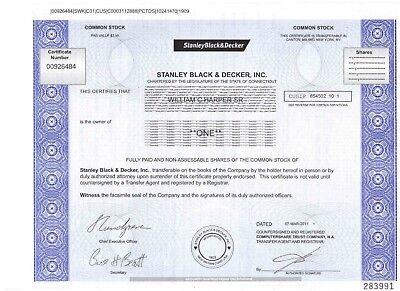 Stanley  Black & Decker Inc