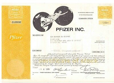 Pfizer Inc    1970