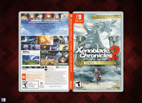 Xenoblade Chronicles 2 COVER ART: Torna The Golden Country for Nintendo Switch