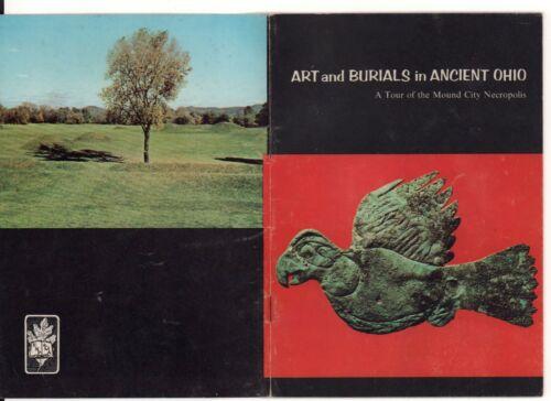 ART & BURIALS IN ANCIENT OHIO, Mound City Necropolis Guide Book w/ Photos 1960s