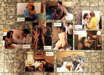 DER SEXBOMBER / Pensione Amore * 9 AUSHANGFOTOS  German Lobby Cards ´81