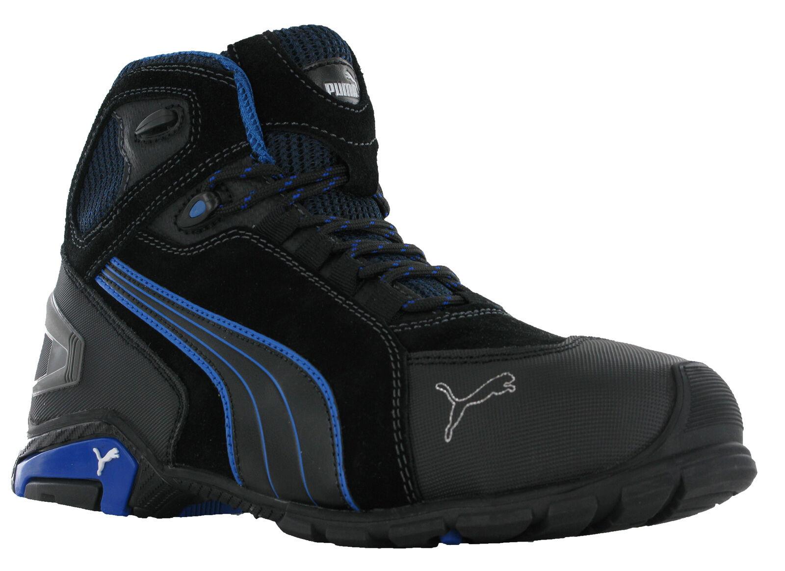 Details zu Puma Rio Low Mid Mens S3 SRC Safety Midsole Toe Cap Trainers Shoes Boots UK6 12