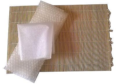 Heidifeathers Wet Felting Basic's Kit- Bamboo Rolling Mat, Bubble Wrap + Netting