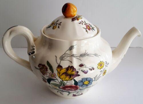 Spode GAINSBOROUGH Teapot Large Vintage Floral England S245 Pottery