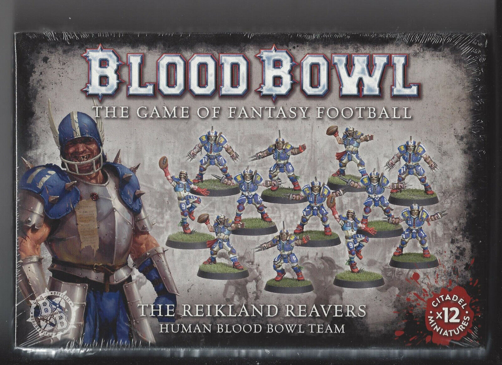 BOX ONLY. Games Workshop Excellent condition Bloodbowl Boxed Game BOX ONLY