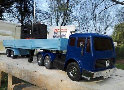 RacoStar Racostar Mercedes Benz 2232 SK Sattelzug 1/22 RC Truck LKW vintage 80er