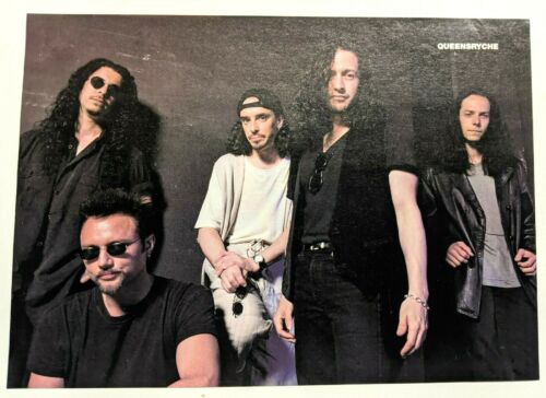 QUEENSRYCHE / GEOFF TATE / BAND MAGAZINE FULL PAGE PINUP POSTER CLIPPING (1)