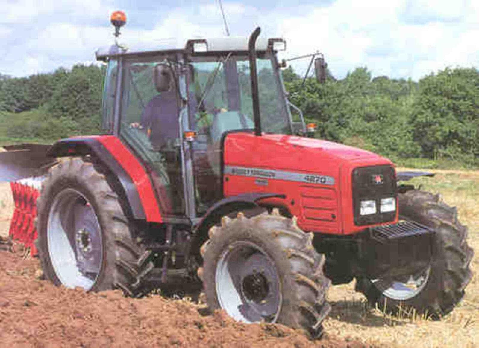 6 of 12 Massey Ferguson Tractor Workshop Manuals 4200 Series
