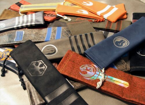 CUSTOM SABER BAGS  PROTECT YOUR LIGHTSABER FROM DAMAGE AND  DUST TRANSPORT