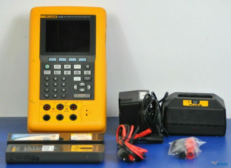 Fluke 741B Documenting MultiFunction Process Calibrator - NIST Calibrated