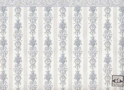 Kupit Symphony Stripe 213d2 Miniature Dollhouse Wallpaper 1pc 1 12