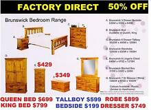 Queen Bed $699. King Also. Bedroom suite complete. FACTORY DIRECT Sumner Brisbane South West Preview