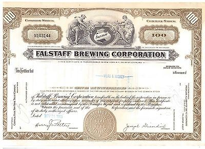 Falstaff Brewing Corporation  1968  Brauerei USA