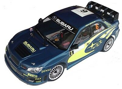 1:10 RC Clear Lexan Body Subaru Impreza WRC 2007 190mm Colt suit Tamiya HPI etcr