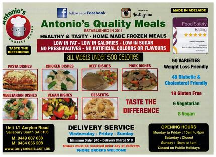 Healthy & Tasty Home Made Prepared Meals