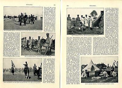 Chinesische Herbstmanöver unter europäischer Zucht c.1906