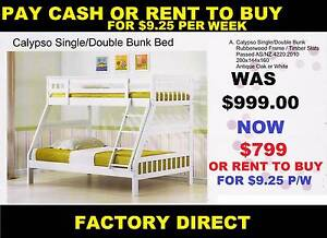 NEW BUNKS Single Bottom And Double Top. RENT KEEP $8.95 PW Ipswich Region Preview