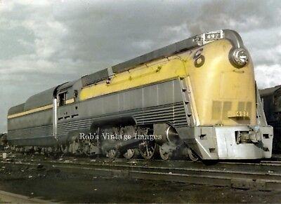 C&O Chesapeake & Ohio Passenger Steam Locomotive 492 Railroad train photo 4-6-4 ()