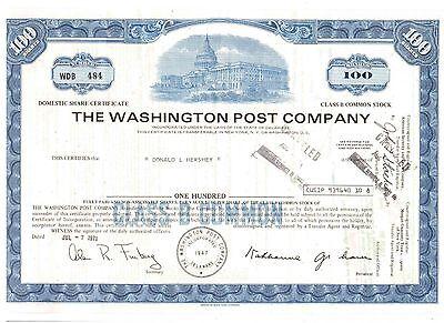 Washington Post Company   1971