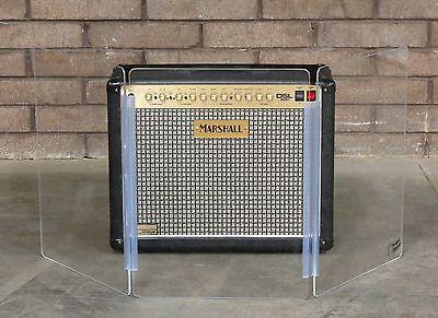 Amp Shield (NEW 2-ft tall, 4.5-ft wide 3-Panel Amp Shield, Plexiglas guitar screen)