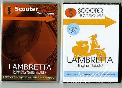 Lambretta Running Maintenance & Engine Rebuild DVDs