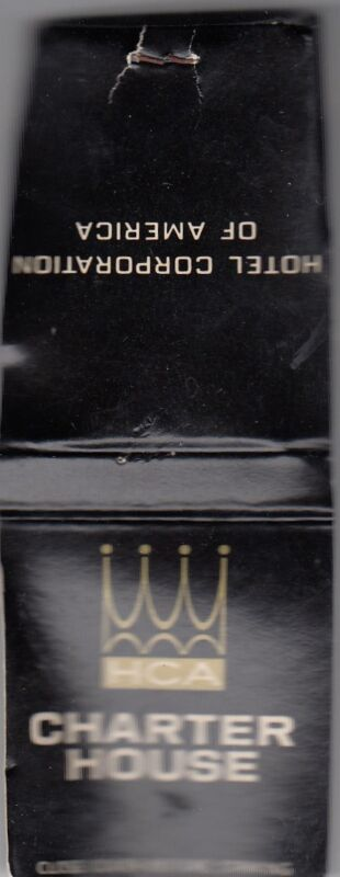 CHARTER HOUSE MATCHBOOK HOTEL CORPORATION OF AMERICA