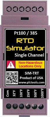 Rtd Temperature Simulator And Tester With Din Rail Mount