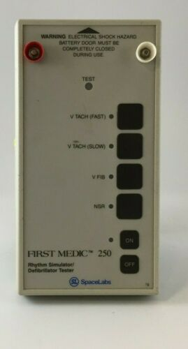 First Medic 250 Rhythm Simulator / Defibrillator Tester Genuine