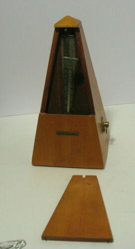 Vintage Seth Thomas Wooden Metronome