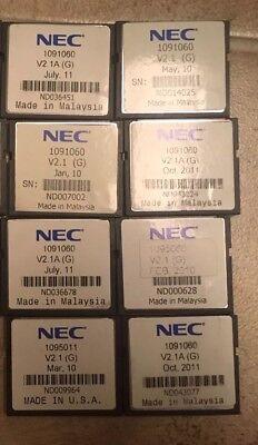 Nec Dsx 40 80 160 1091060 2 Port 8-hour Intramail Flash Voice Mail Card