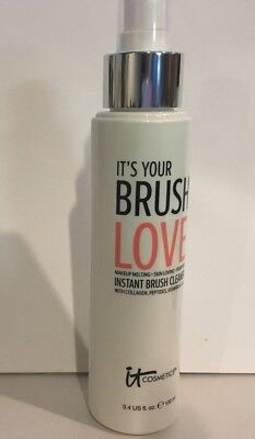 IT Cosmetics It's Your Brush Love Instant Brush Cleaner NEW 3.4fl oz/100ml
