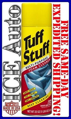 3-DAY SALE! Tuff Stuff Multi Purpose Foam Cleaner for Deep Cleaning 22 oz. #350