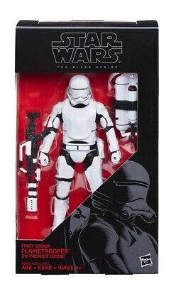 STAR WARS THE FORCE AWAKENS THE BLACK SERIES 6-INCH FIRST ORDER FLAMETROOPER