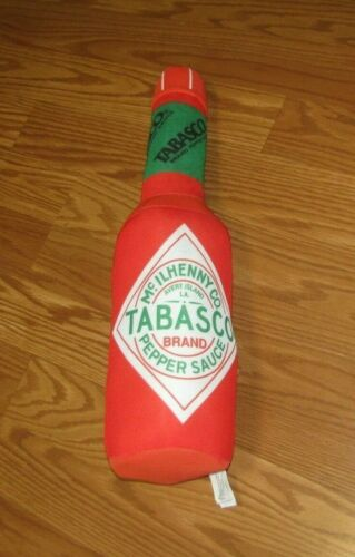 "18"" Tabasco Sauce - McIlhenny Co. Plush Stuffed Bottle by Fiesta!"