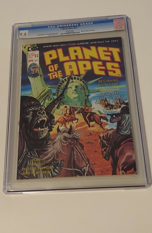 PLANET OF THE APES #7 CGC 9.6