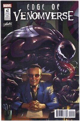 Marvel 2017 SDCC Edge of Venomverse #2 Stan Lee Collectibles Exclusive Variant