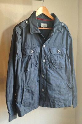 Jeremiah Vintage Workwear Rogue Size XL Blue Cotton Twill Jacket Nordstroms Mens