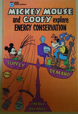 Mickey Mouse And Goofy Explore Energy Consumption