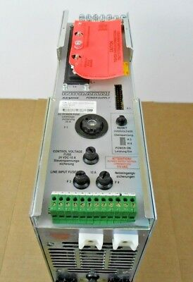 1 New Indramat Tvm1.2-050-220300-w1 Servo Power Supply Tvm Series 25a 220v