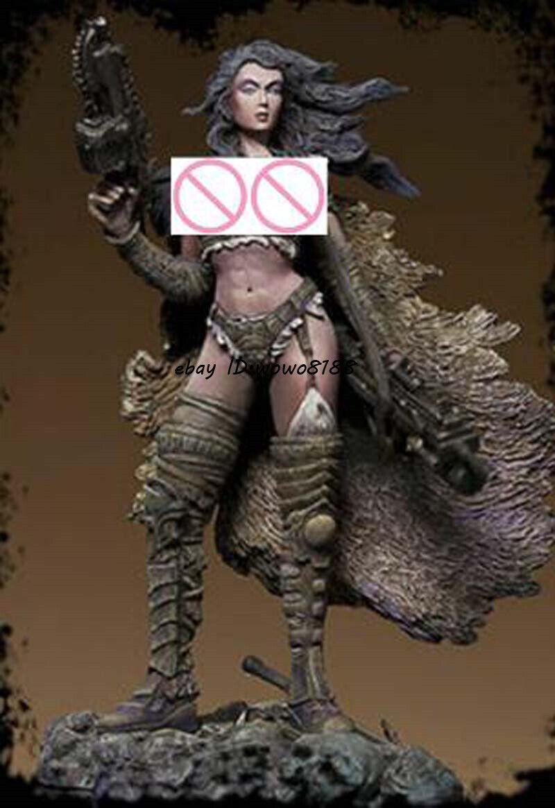 1//22 Resin Ancient Mermaid Figure Model Unpainted Girl Garage Kits Unassembled
