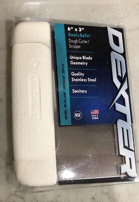 Dexter-russell - Sani-safe 19783 6 X 3 White Dough Cutterscraper