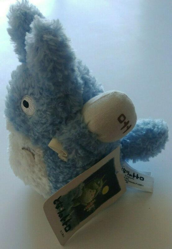 "My Neighbor Totoro Blue Chu - 5"" Plush Doll JAPAN Studio Ghibli Sun Arrow w/ Tag"