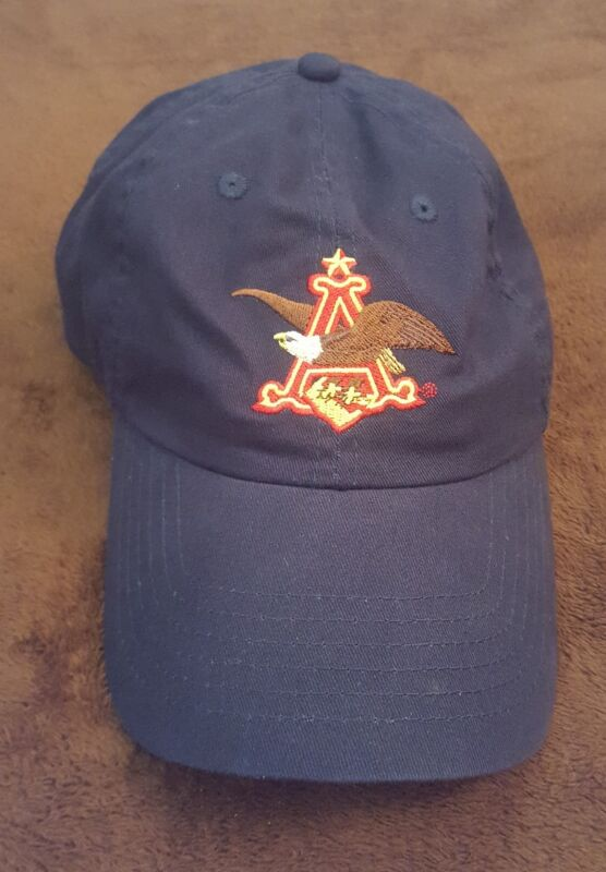 Anheuser-Busch Hat Beer Collectible ST. LOUIS BREWERY TOUR Advertising Cap EUC
