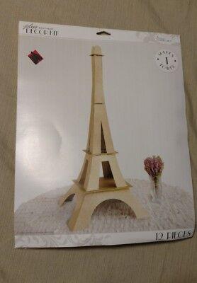 Jolee's Boutique Decor Parisian Large Glitter Eiffel Tower Kit -12 Pieces - New