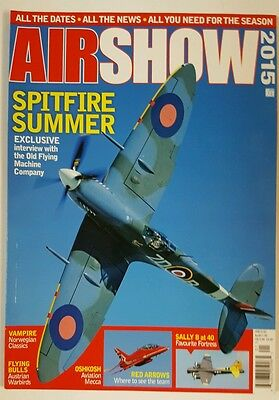 Air Show 2015 Spitfire Summer Vampire Norwegian Classic Oshkosh FREE SHIPPING JB (Air Show 2015)