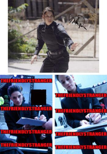 "MISSY PEREGRYM signed Autographed ""ROOKIE BLUE"" 8X10 PHOTO Proof FBI McNally COA"