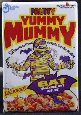 "Fruity Yummy Mummy Cereal 2"" X 3"" Fridge / Locker Magnet. Creative Gift Idea!"